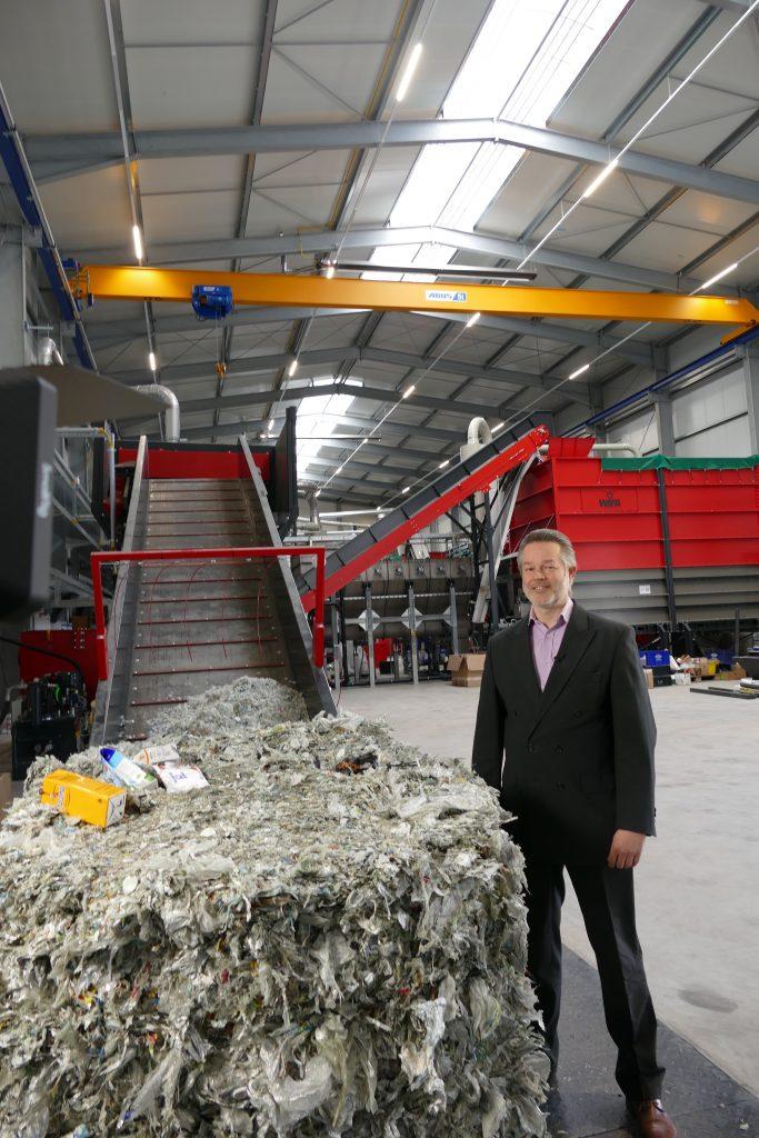 A new level of recycling: Palurec turns a plastic-aluminium material mix into marketable raw materials.