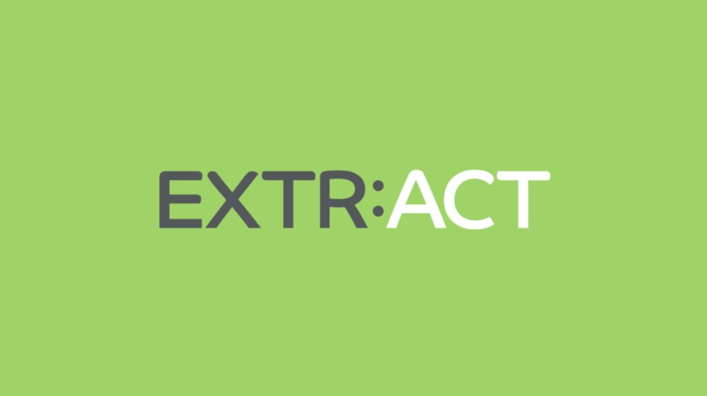 EXTR:ACT work presentation